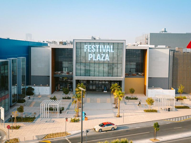 Dubai Festival City, Festival Plaza