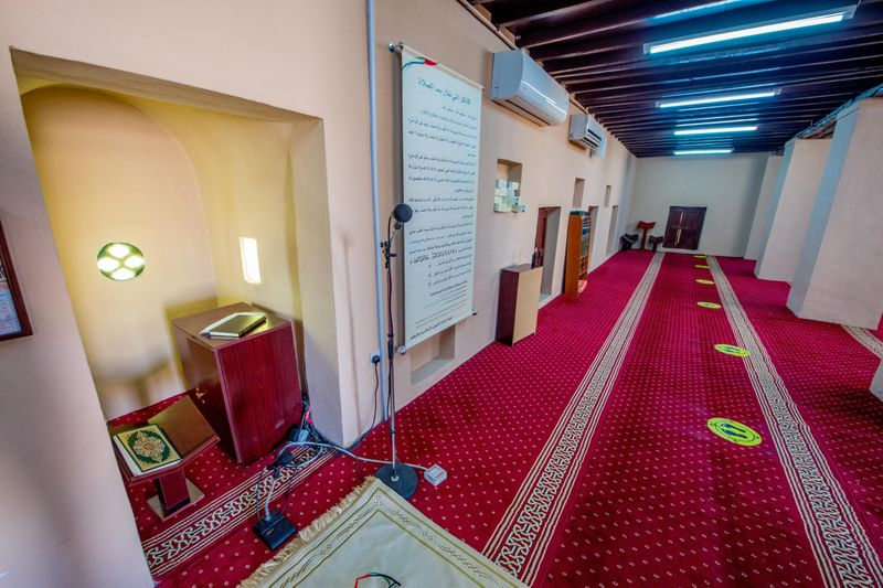 Falaj Al Mualla Fort Mosque 3-1601562679910