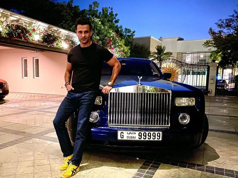 Ronit Roy in Dubai
