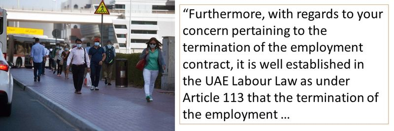 What are the conditions under which your contract can be terminated?