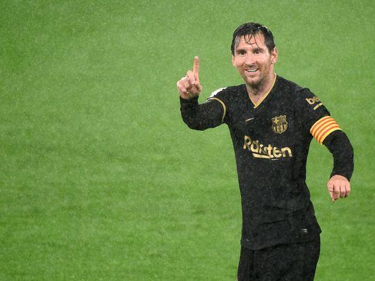 Lionel Messi helped Barcelona to win over Celta Vigo