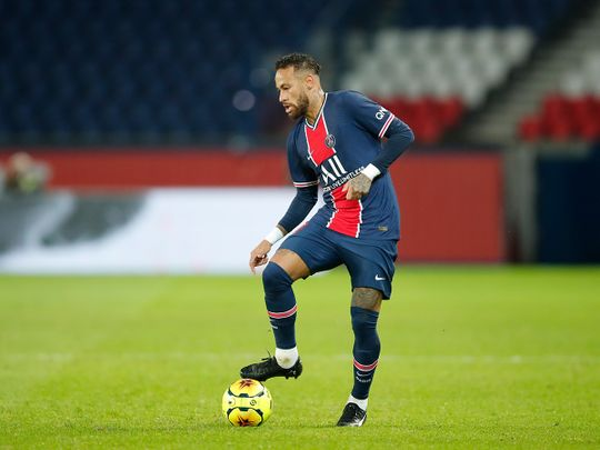 Paris St-Germain's Neymar