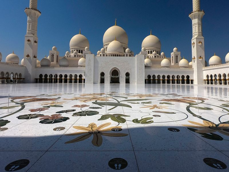 Abu Dhabi's Sheikh Zayed Grand Mosque reopens to visitors