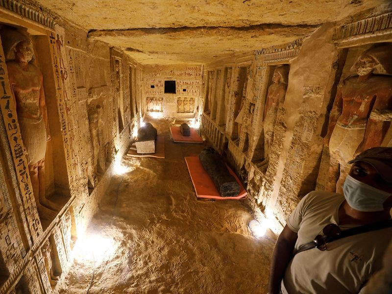 Ancient coffins gallery