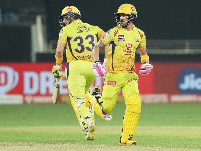 Chennai Superkings openers Faf du Plessis and Shane Watson