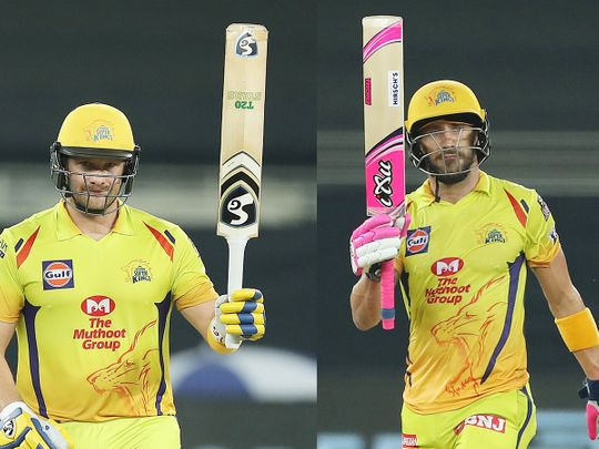 Chennai Superkings openers Shane Watson and Faf du Plessis