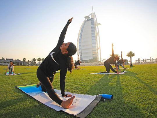 Dubai Fitness Challenge DFC Yoga