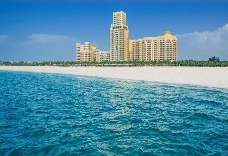 PRISTINE BEACHES: Ras Al Khaimah offers 64 kilometres of pristine beaches, an abundance of cultural experiences, as well as incredible outdoor adventure activities. A view of Waldorf Astoria Ras Al Khaimah.