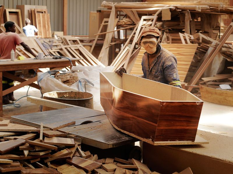 South Africa Coffin maker