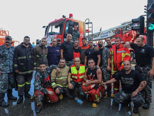 Lebanese Civil Defence and firefighting department