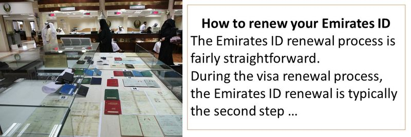 How to renew your Emirates ID