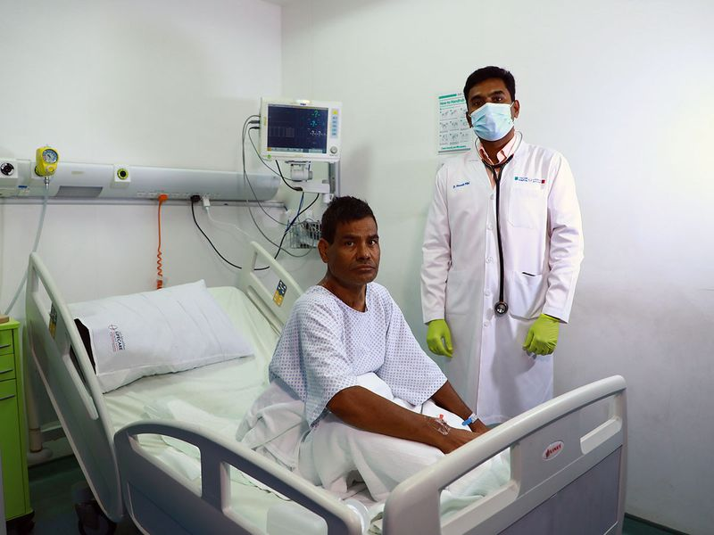 NAT  Dr Abeesh With the patient-4-1601874364532