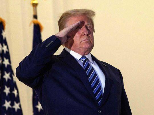 20201006 US President Donald Trump