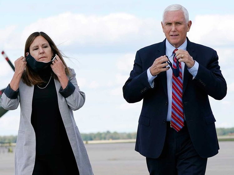 Mike Pence takes lead role in campaign with Trump travel stopped | Americas  – Gulf News