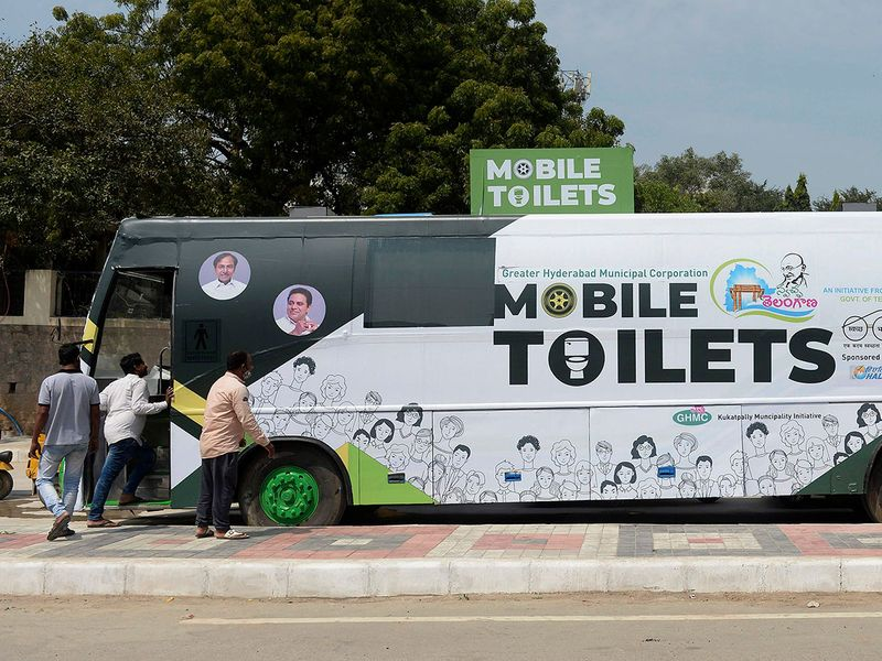 mobile toilet gallery