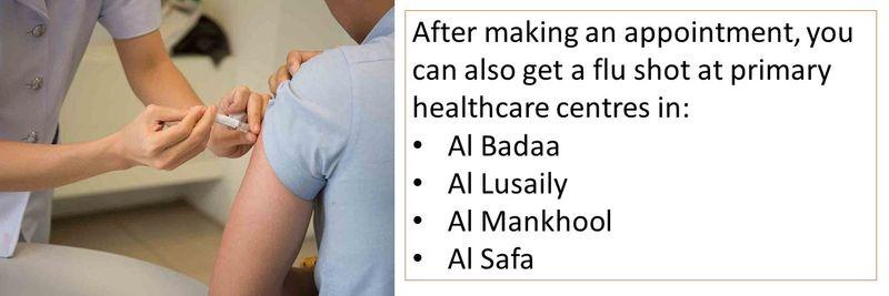- Al Badaa - Al Lusaily - Al Mankhool - Al Safa