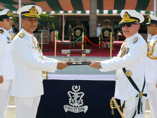Admiral Muhammad Amjad Khan Niazi  pakistan navy chief