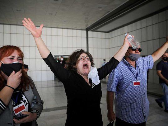 Greece Golden Dawn Magda Fyssa mother of anti-racist Greek rapper Pavlos Fyssas