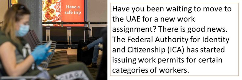Have you been waiting to move to the UAE for a new work assignment?