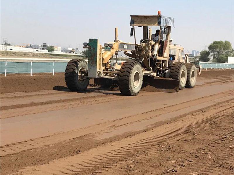 Jebel Ali track is getting set for new season