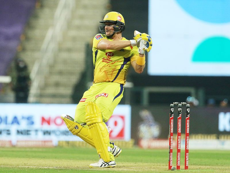 Shane Watson of Chennai Superkings