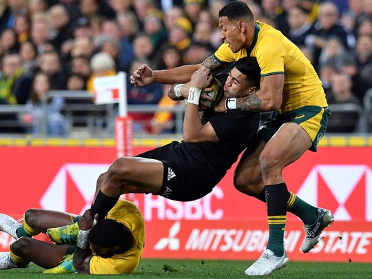 Australia Wallabies and New Zealand All Blacks are prepared for another fight on the field