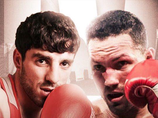 Hovhannes Bachkov takes on Samuel Gonzalez in Dubai on Friday