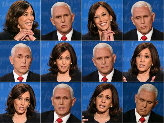Mike Pence Kamala Harris debate
