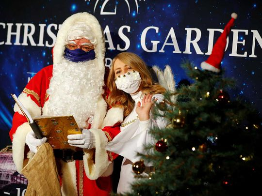Santa Claus Germany covid berlin