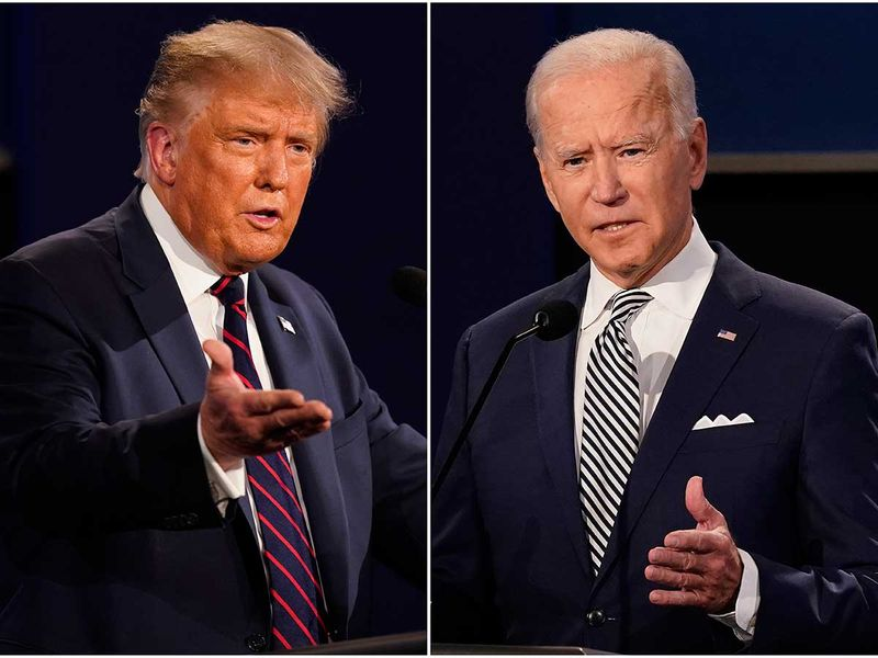 Arabs favour Biden over Trump in US election: poll