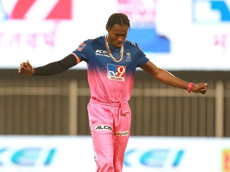 20201009 Jofra Archer of Rajasthan Royals