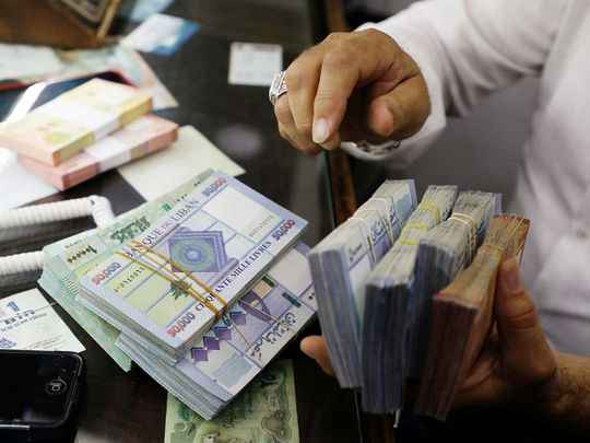 Lebanon pounds currency