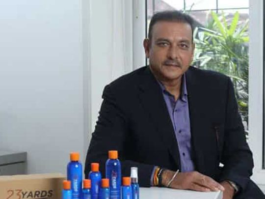 Ravi Shastri is launching his own male grooming products range
