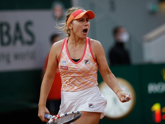 Sofia Kenin makes the French Open final