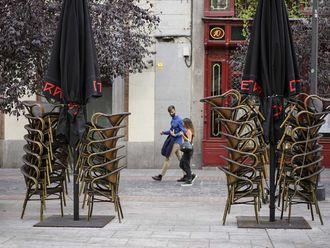 Spain shutdown madrid covid