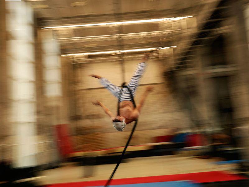 Virus_Outbreak_Belgium_Circus_School_Photo_Gallery_88676