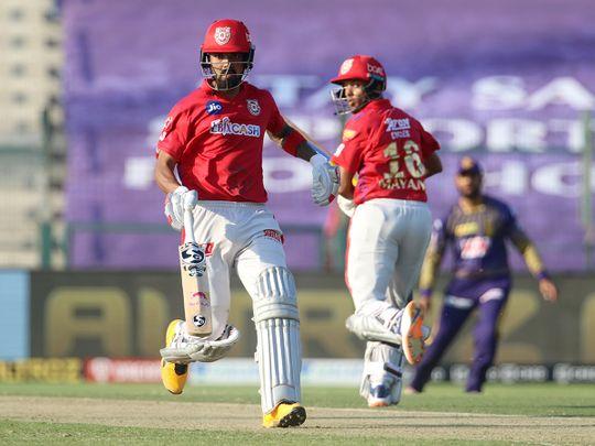 Kings XI Punjab openers KL Rahul and Mayank Agarwal