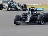 Only a few fractions of a second separated Lewis Hamilton and Valtteri Bottas during Eifel GP qualifying