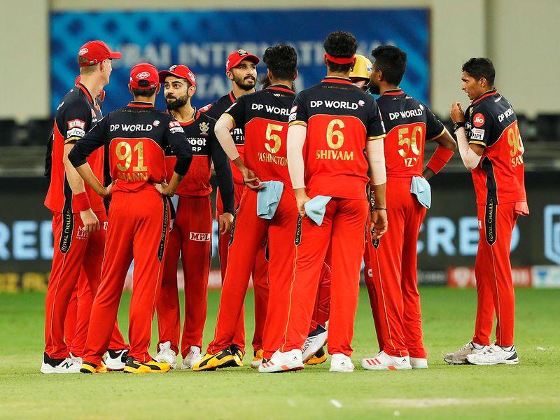 Royal Challengers Bangalore players