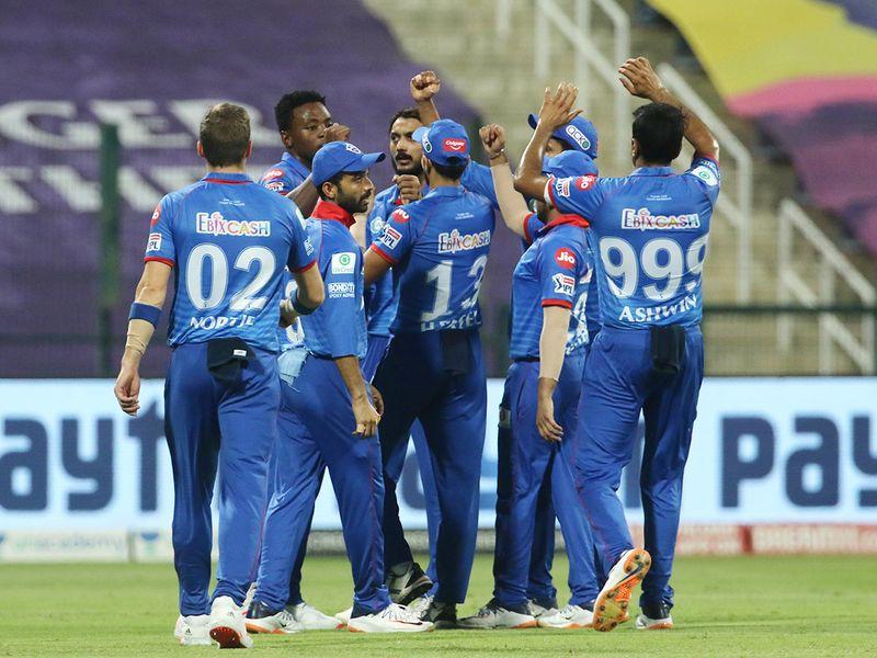 Delhi Capitals players