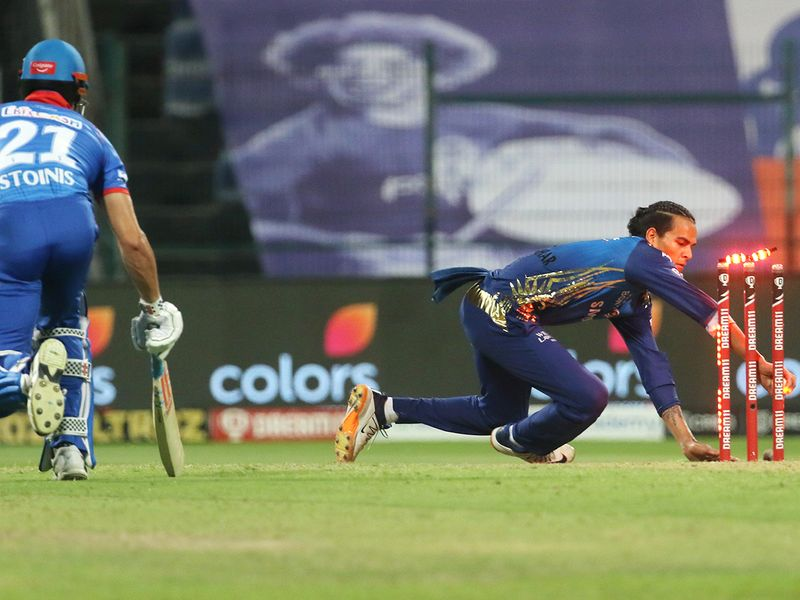 Rahul Chahar of Mumbai Indians
