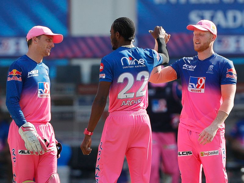 Rajasthan Royals players