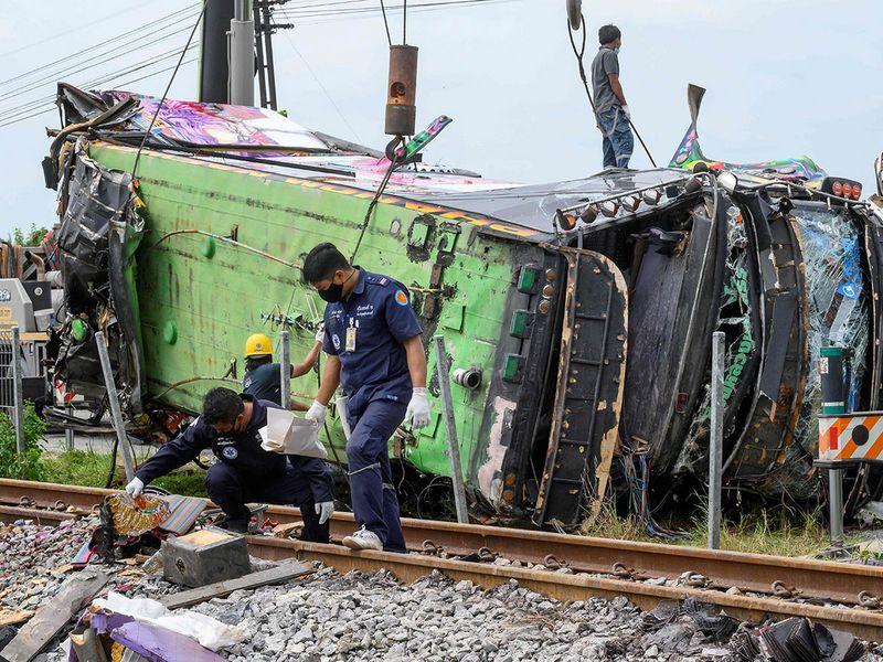 Thailand collision gallery