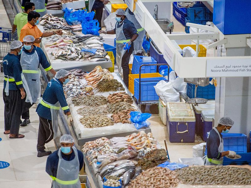 Water Front fish market