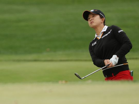 Kim Sei-young on her way to victoey in the PGA Championship