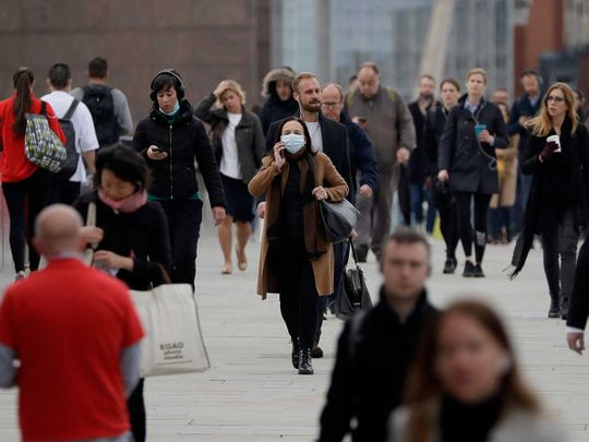 London Bridge commuters