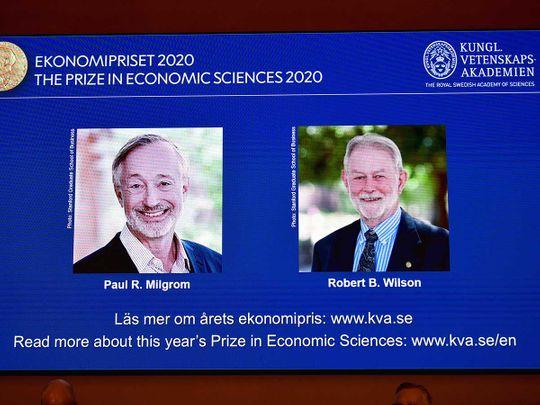 Nobel winners Economics 2020