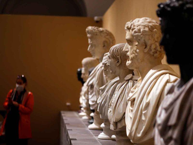 Torlonia Marbles gallery
