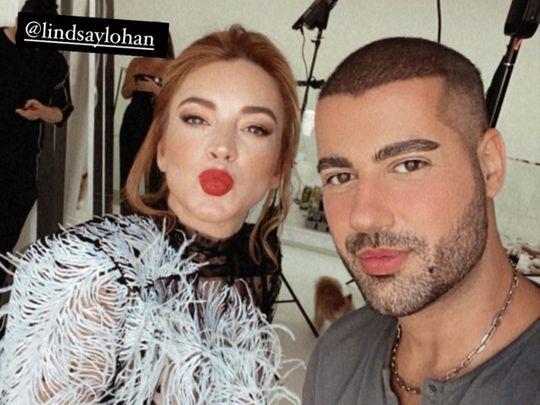 Lindsay Lohan Hindash