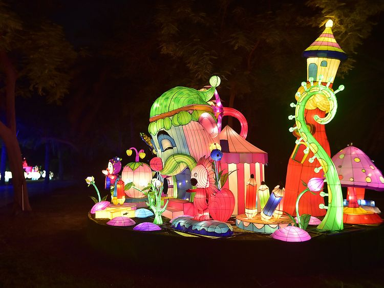What You Can Expect At The Just Reopened Dubai Garden Glow Uae Gulf News